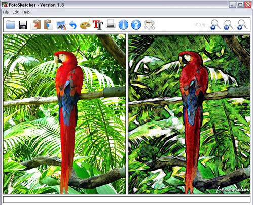 FotoSketcher 2.20. Интернет-посиделки