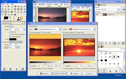 Интернет-посиделки. Редактор фотографий GIMP